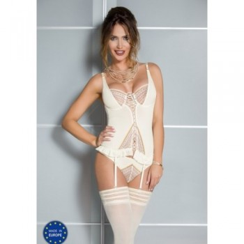 CONNIE CORSET Casmir CREAM L/XL