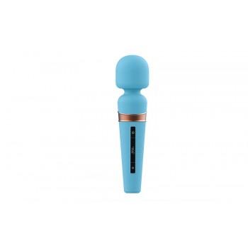 Viotec Titan USB голубой вибростимулятор с Soft Silicon головкой с сенсорным управлением