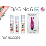 Adrien Lastic набор SUMMER PROMO BAG 06 (LUBE 10ML STRAWBERRY + CHERRY + PEACH + POCKET PINK)