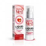 Adrien Lastic Гель Liquid Vibrator Strawberry ( 30ml ) С Эффектом Вибрации