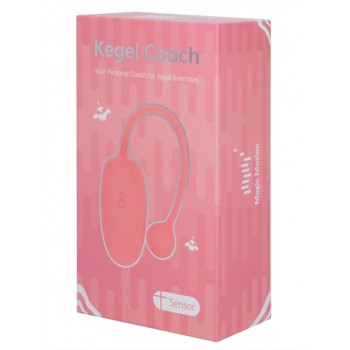 MAGIC KEGEL COACH Тренажер Кегеля pink USB