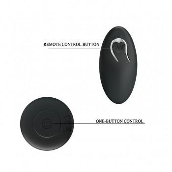 Анальный стимулятор пробка MR PLAY 8 эффектом вибрации с пультом Д\У USB