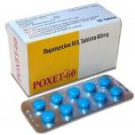 Поксет (dapoxetine 30 мг) №10 (ДАПОКСЕТИН)
