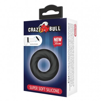 Crazy Bull Super soft Эластичное эрекционное кольцо