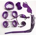 БДСМ набор из 8-ми предметов фиолетовый