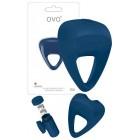 Вибрирующее кольцо OVO B9 Синий
