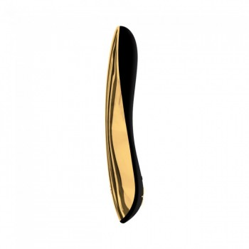 Ovo E4 Rechargeable Vibrator Black Gold