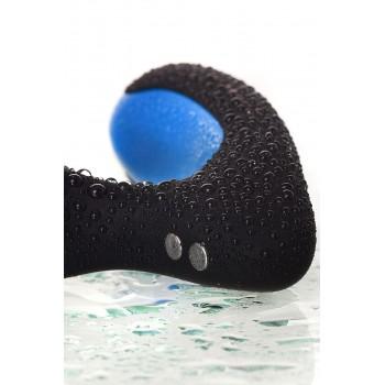 Стимулятор простаты силикон, чёрный, 14 см USB