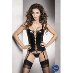 BES CORSET black S/M - Passion