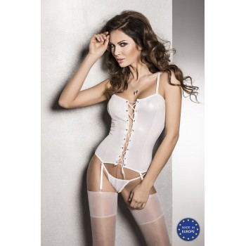BES CORSET white L/XL - Passion