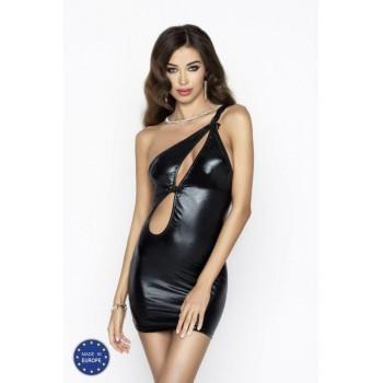 cas CORNELIA DRESS black S/M - Passion