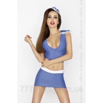 BRIGITTE SET blue Passion L/XL