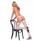 Stockings WHITE o/s