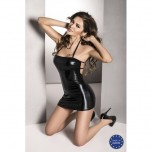 BELTIS DRESS black XXL/XXXL - Passion