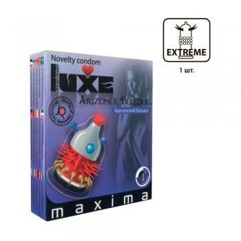 Презервативы Luxe Maxima Аризонский Бульдог