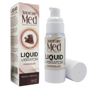 Adrien Lastic Гель Liquid Vibrator Chocolate ( 30ml ) с эффектом вибрации