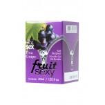 Съедобное масло для массажа INTT ( Бразилия ) Grape с разогревающим эффектом и ароматом винограда, 40 мл