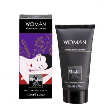 Stimulation Cream shiatsu woman крем стимулирующий для женщин 50 мл.