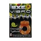 Виброкольца LUXE VIBRO Скользкая турбина + презерватив