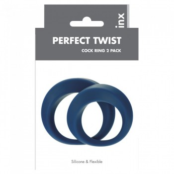 Perfect Twist Cock Ring Set Linx