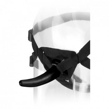 Страпон тонкий 50 оттенков FF The Pegger Black