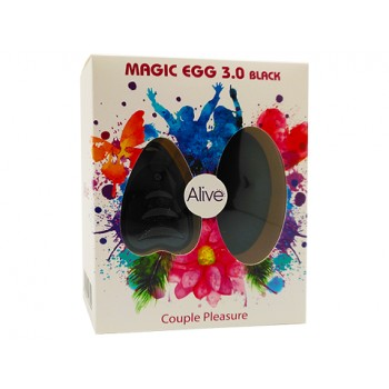 Adrien Lastic Виброяичко на дистанционном пульте MAGIC EGG 3.0 Negro