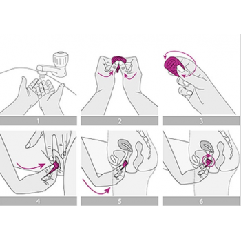 Adrien Lastic EVE - TALLA L Чаша менструальная многоразовая