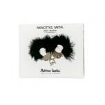 Adrien Lastic Наручники черные с пухом